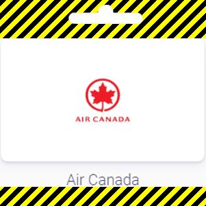 Gift card | Air Canada