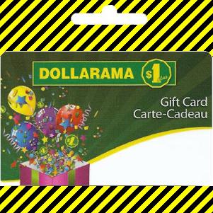 Gift card | Dollarama