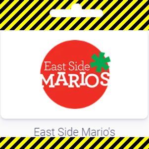 Gift card | East Side Mario's