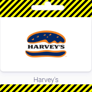 Gift Card | Harvey's
