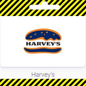 Gift Card | Harvey's